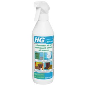 View HG Eliminate Unpleasant Smells At Source Spray details