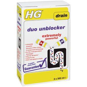 Image of HG Duo Drain unblocker 1000 ml