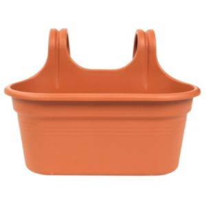 View Easy Hanger Duo Planter Terracotta, (H)25.7cm (L)36.2cm details