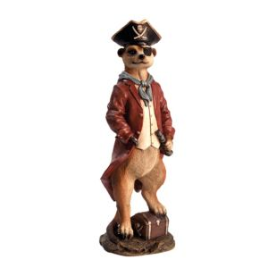 Photo of Meerkat pirate garden ornament