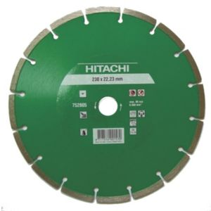 View Hitachi (Dia)115mm Segmented Diamond Cutting & Grinding Blade details