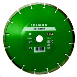 View Hitachi (Dia)230mm Segmented Diamond Cutting & Grinding Blade details