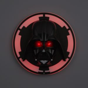 Image of Darth Vader 3D Black wall light