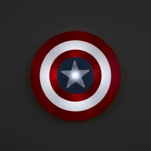 Image of Captain America 3D Multicolour Wall light
