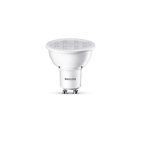 Philips GU10 345lm LED Reflector Spot Light Bulb ...