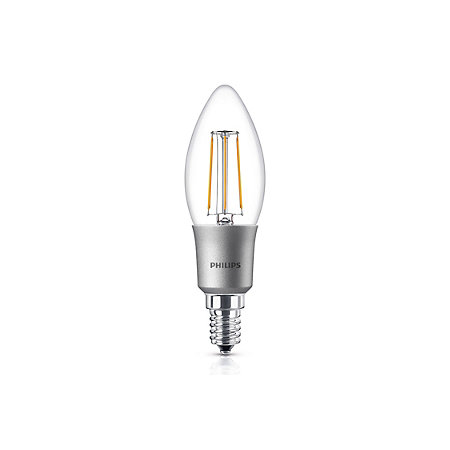 philips e14 470lm led dimmable candle light bulb. Black Bedroom Furniture Sets. Home Design Ideas