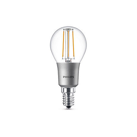 philips e14 470lm led dimmable mini globe light bulb departments diy at b q. Black Bedroom Furniture Sets. Home Design Ideas