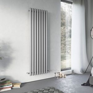 Image of Ximax Vulkan Vertical Radiator Grey (H)1800 mm (W)435 mm