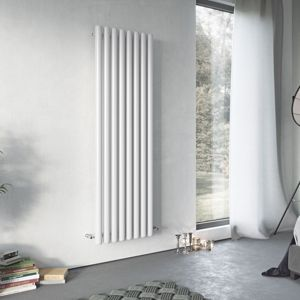 View Ximax Vulkan Vertical Radiator White, (H)1800 mm (W)585mm details