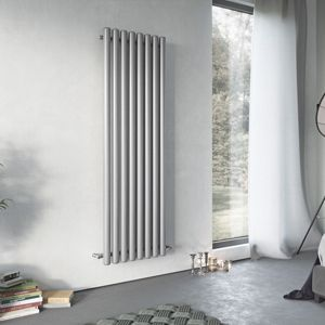 View Ximax Vulkan Vertical Radiator Grey, (H)1800 mm (W)585 mm details