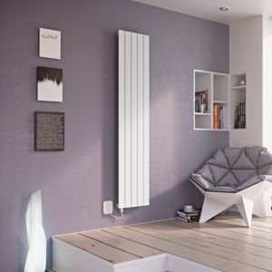 View Ximax Vertirad Electric Radiator White, (H)1800 mm (W)520mm details