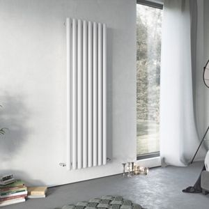 View Ximax Vulkan Horizontal Radiator White, (H)600 mm (W)885mm details