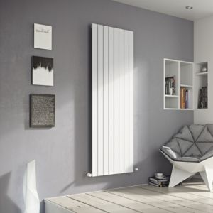 View Ximax Vertirad Single Vertical Radiator White, (H)1600 mm (W)445mm details