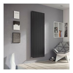 View Ximax Vertirad Single Vertical Radiator Anthracite, (H)1600 mm (W)445mm details