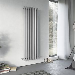 Image of Ximax Vulkan Horizontal Radiator Grey (H)600 mm (W)1185 mm