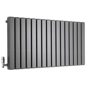 View Ximax Vulkan Square Horizontal Radiator Anthracite, (H)600 (W)1185mm details