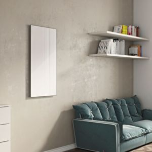 View Ximax Infrared Glass Radiator White, (H)600 mm (W)1200mm details
