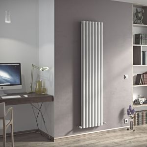 View Ximax Champion Duplex Vertical Radiator White, (H)1800 mm (W)526mm details