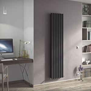 View Ximax Champion Duplex Vertical Radiator Anthracite, (H)1800 mm (W)410mm details