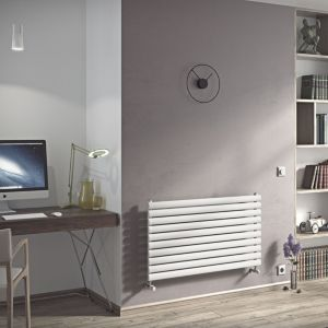 View Ximax Champion Horizontal Radiator White, (H)584 mm (W)1200mm details