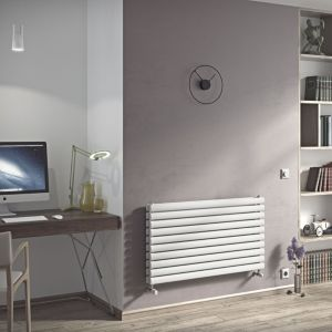 View Ximax Champion Duplex Horizontal Radiator White, (H)584 mm (W)1200mm details