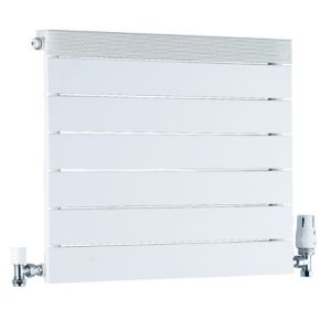 View Ximax Viola Horizontal Radiator White, (H)500 mm (W)600 mm details
