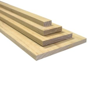 View Softwood Smooth Smooth Planed Timber (T)19mm (W)285mm (L)1800mm details