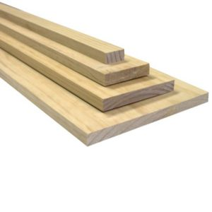 View Softwood Smooth Smooth Planed Timber (L)2.4m (W)285mm (T)19mm details