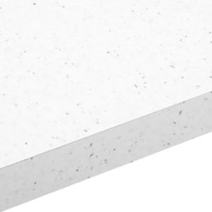 View 38mm B&Q Astral White Laminate Square Edge Kitchen Worktop details
