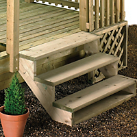 decking garden diy at b q