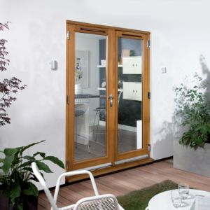 View External French Doors details