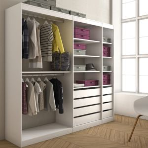 Form Perkin White Large Hanging Storage Kit (H)200cm (W)220cm