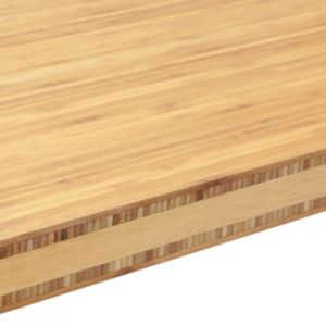 View 40mm IT Kitchens Bamboo 5-Layer Laminate Softened Island Worktop details