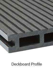 Ebony Composite Deckboard image 1 Deckboard Profile