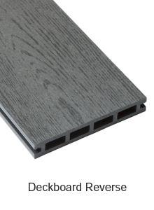 Ebony Composite Deckboard image 3 Deckboard Reverse