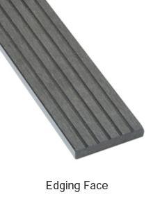 Ebony Composite Deckboard image 4 Edging Face