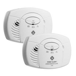 Image of First Alert 2117529 Carbon monoxide Alarm Pack of 2