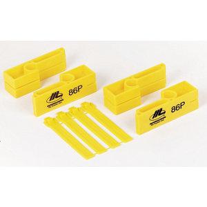 Marshalltown Yellow Polyethylene Brick line Box  0.01m Pack of 2