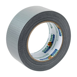 Image of Duck Silver effect Gaffer Tape (L)25m (W)50mm Pack of 2
