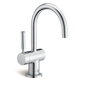 Image of InSinkErator Chrome effect Filtered hot & cold water tap