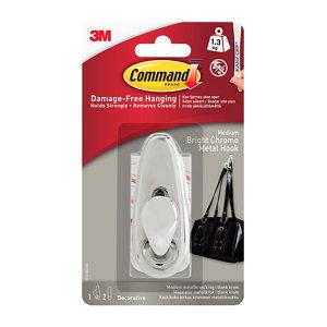 3M Command Metal Hook (H)82mm (W)98mm (Max)1kg