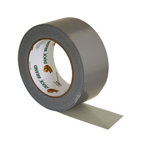 Image of Duck Silver effect Duct Tape (L)25m (W)50mm