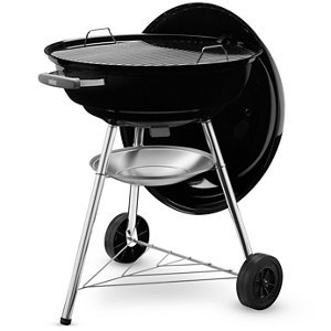 Image of Compact kettle Black Charcoal Barbecue