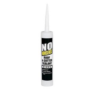 No Nonsense Black Roof & gutter Sealant  0.31L