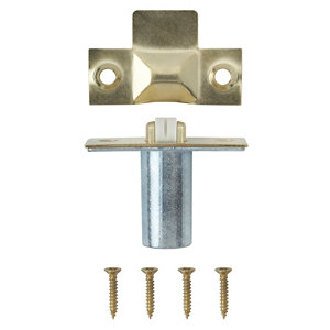 Image of Brass-plated Metal Adjustable Roller catch