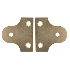 Carbon steel Mirror screw  Pack of 2