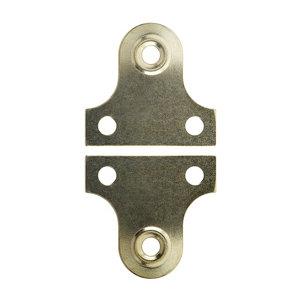 Carbon steel Mirror screw (L)38mm  Pack of 2