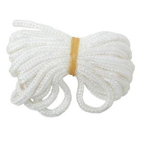 White Cotton Cord  (L)3m
