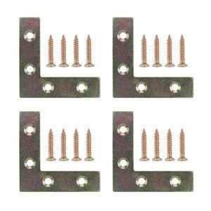 Image of Steel Corner plate Pack of 4