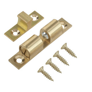 Image of Brass Double roller catch